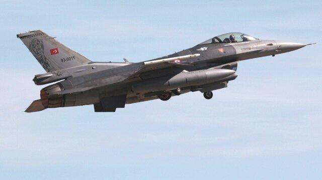 F16'lar bomba yağdırdı