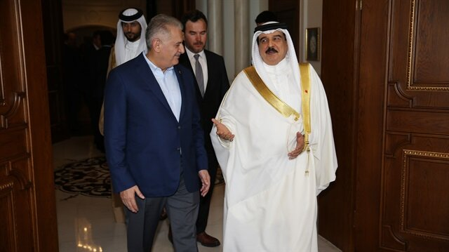 Turkish PM hails Bahraini monarch for coup solidarity