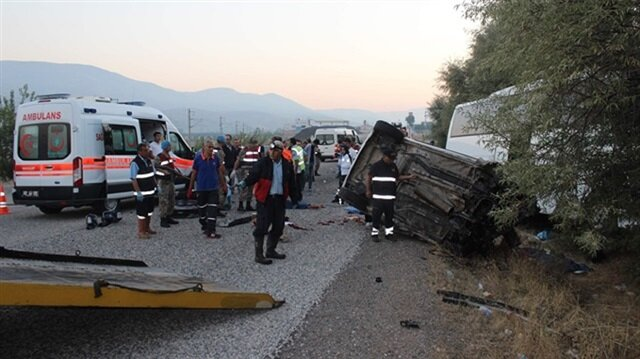Seven killed in traffic accident in southeast Turkey