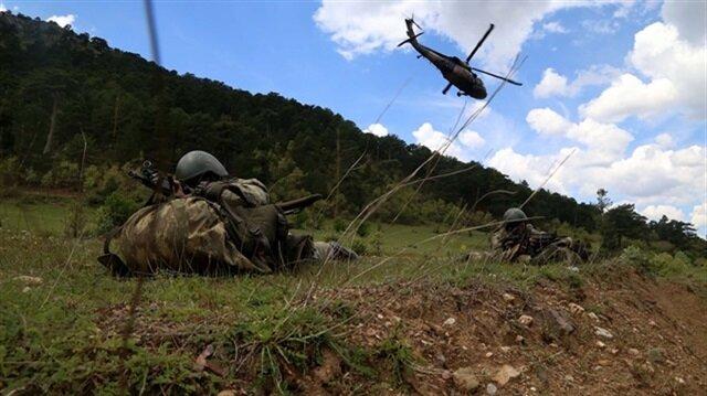 Nine PKK terrorists killed in southeastern Turkish town