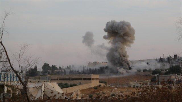 Russian airstrike kills 3 in Syria's Idlib