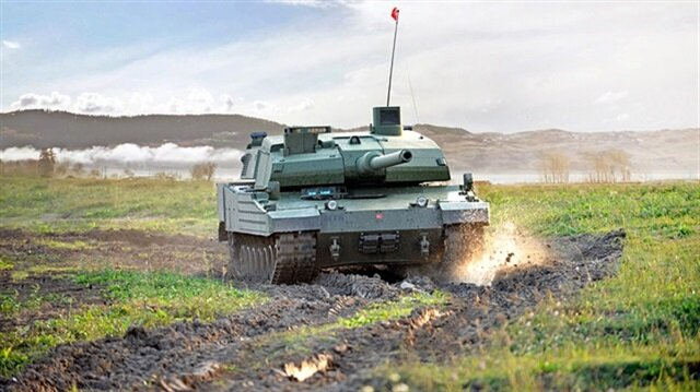 Turkey's first domestic tank 'Altay' to be mass-produced