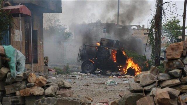 Suicide bombing kills 54 in Yemen's Aden