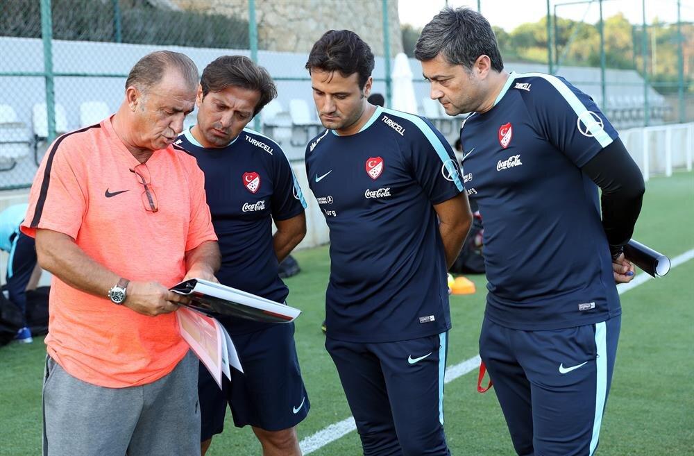 A Milli Futbol Takımı, Rusya ile yapacağı özel maç için Belek kampındaki ikinci çalışmasını gerçekleştirdi.