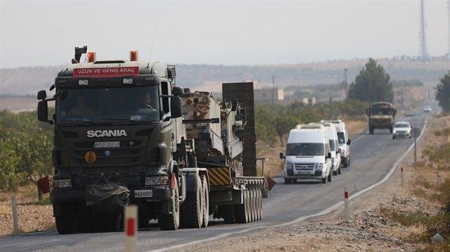 الجيش التركي يرسل مزيدا من التعزيزات العسكرية الى الحدود مع سوريا