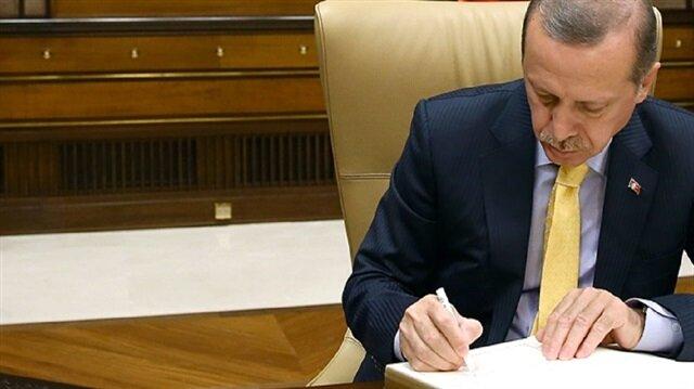 أردوغان يصادق على قانون بخصوص تعويضات