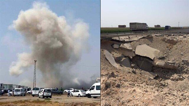 Mardin-Şanlıurfa karayolunda 2 ton patlayıcı imha edildi