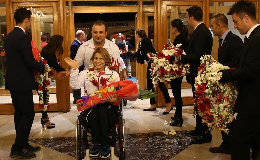 Türkiye Milli Takımı, 2016 Rio Paralimpik Oyunları'nda 3 altın madalya alarak organizasyon tarihinin en başarılı performansını gösterdi.