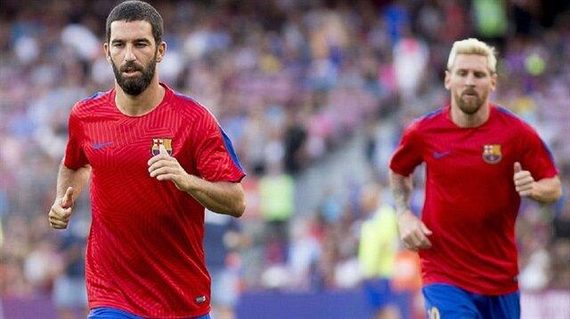 Messi'nin forması Arda'ya