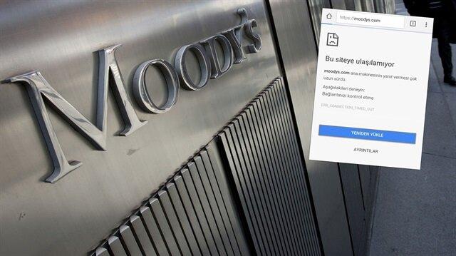 Moody's'in sitesi çökertildi