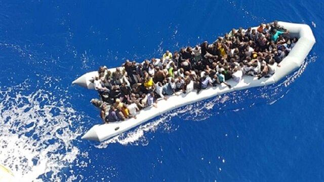 Akdeniz'deki göçmenleri Türk gemisi kurtardı