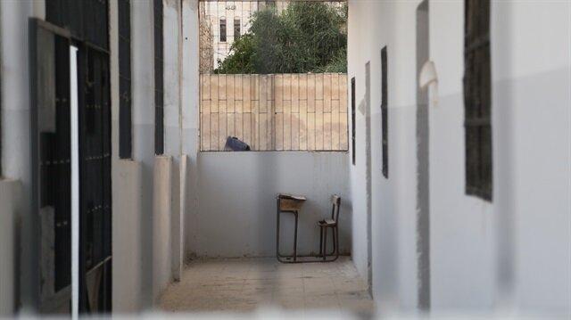 Okul tuvaletinde bomba