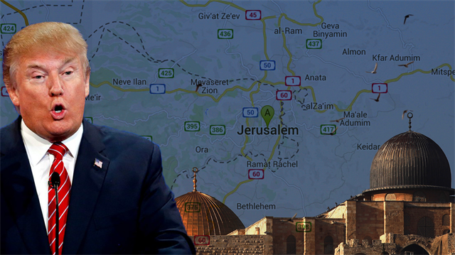 Trump'tan Netanyahu'ya 'Kudüs' vaadi