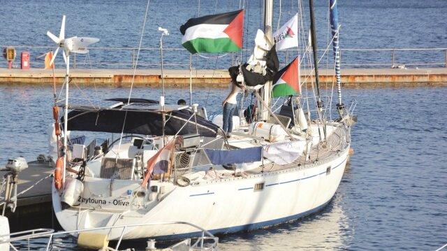 Gazze'ye kadın  çıkarması