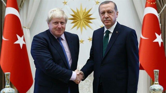 Erdoğan Boris Johnson'ı kabul etti