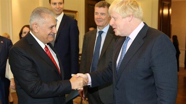 Başbakan İngiliz Bakan'ı kabul etti