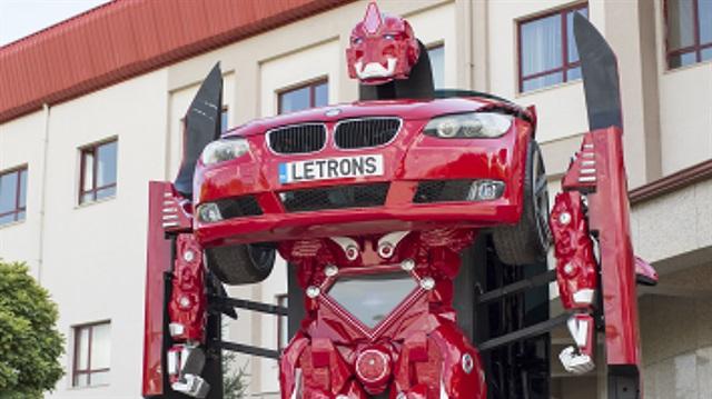 Ankaralı 'Transformers' görücüye çıktı