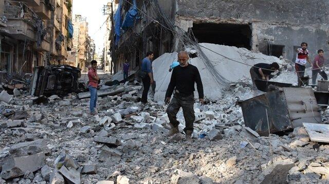 'Halep'te savaş suçu işlediklerini biliyorlar'