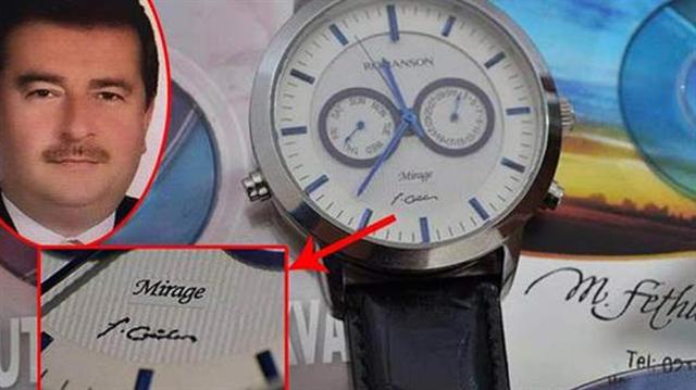 10 milyon dolara FETÖ imzalı saat!