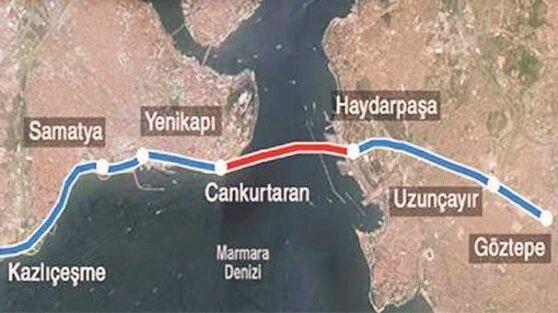 Avrasya Tüneli'nden ilk geçiş