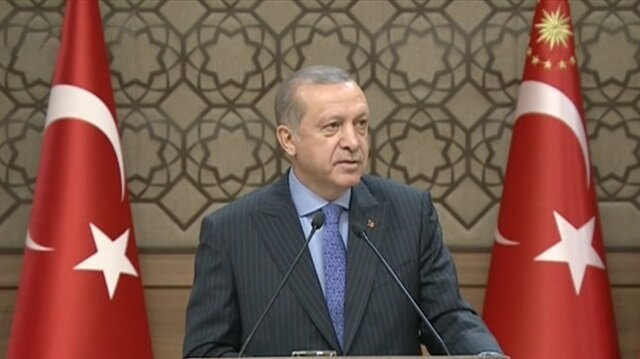 Cumhurbaşkanı Erdoğan'dan Bahçeli'ye teşekkür