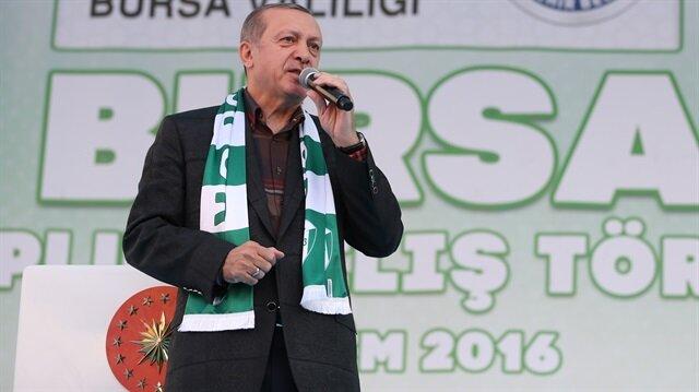 Cumhurbaşkanı Erdoğan: Bu sınırları gönüllü kabul etmedik