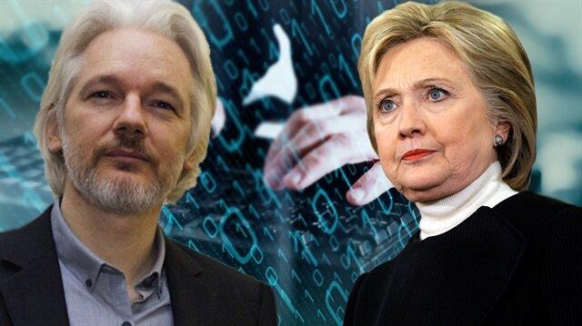 WikiLeaks-Clinton savaşında üçüncü perde