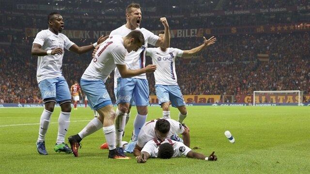 Galatasaray-Trabzonspor: 0-1