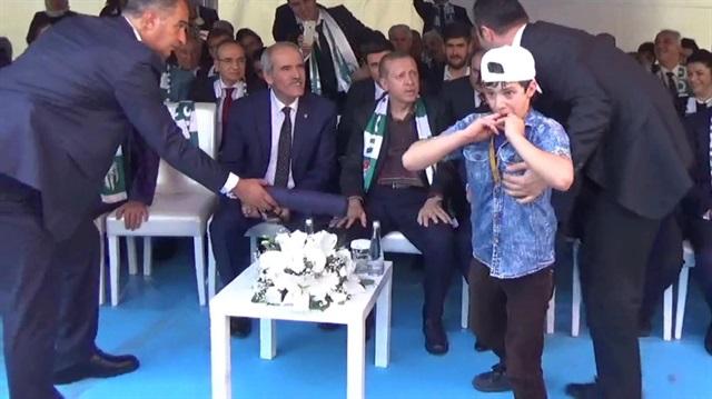Suriyeli Abdullah'tan Cumhurbaşkanı Erdoğan'a teşekkür