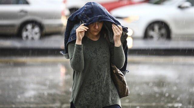 Hava sıcaklıkları düşecek yağış bekleniyor