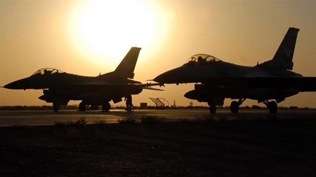Musul için 4 jet hazır