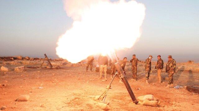 Suriye PKK'sını ateş bastı