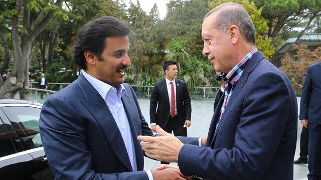 Katar Emiri ile Huber'de 2,5 saat