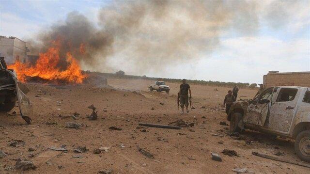 Esed rejimi ÖSO'ya saldırdı