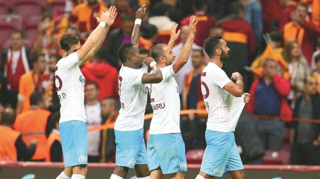 Galatasaray'la yerden kalktık