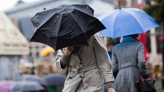 İstanbul ve 11 ile yağış uyarısı