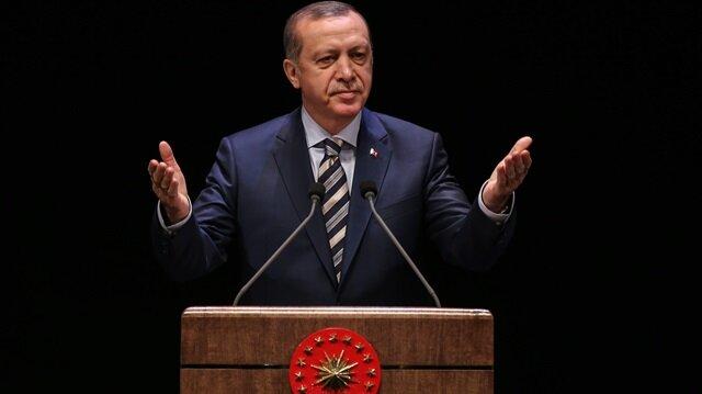 Erdoğan: Ben mücadele ederken yanımda sadece milletim vardı