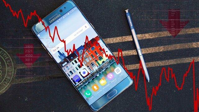 Samsung dibi gördü