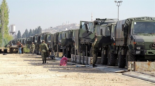 Image result for huge military convoy in turkey