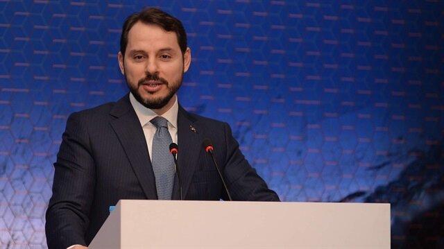 Enerji ve Tabii Kaynaklar Bakanı Berat Albayrak, Uluslararası Kömür Çalıştayı'nda konuştu.