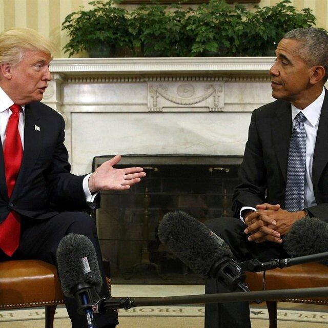 Obama Trump ile görüştü