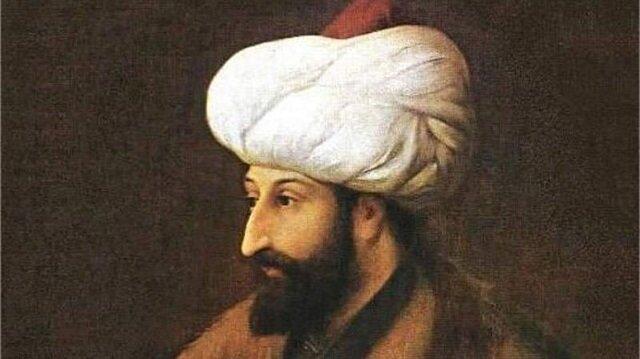 Afbeeldingsresultaat voor fatih sultan mehmet han portresi
