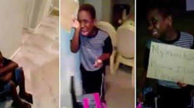 Trump'a oy verdiği için evden atılan 8 yaşındaki çocuk