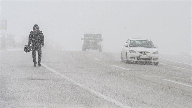Meteoroloji bazı illere kar yağışı uyarısında bulundu.