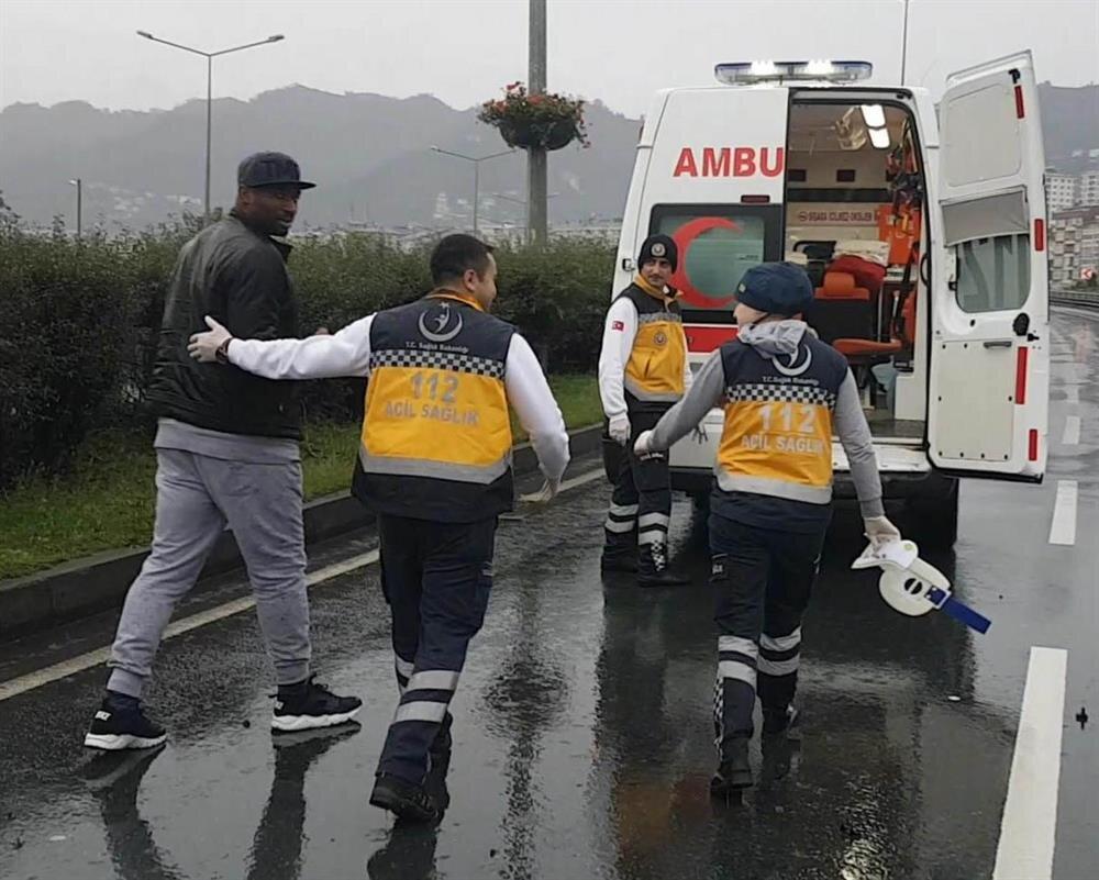 Kweuke'ye ilk müdahale ambulansta yapıldı.