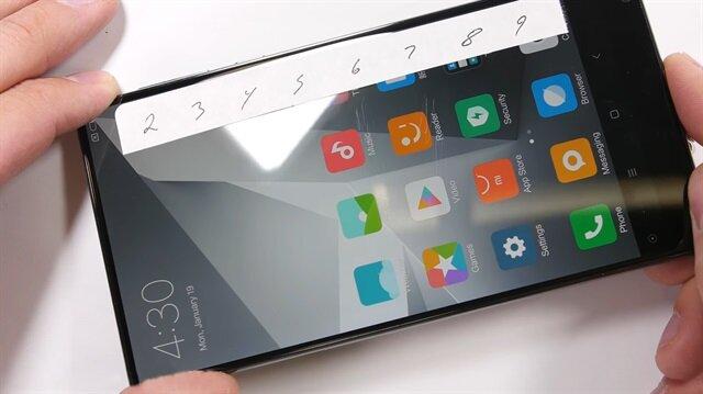 İşte Xiaomi Mi Mix'in işkence testi