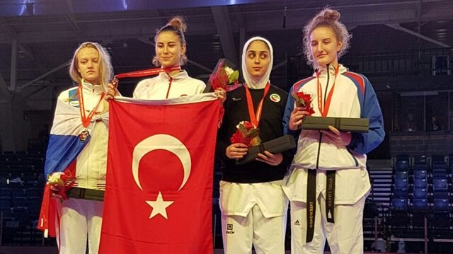 Şeyma Nur Söğüt dünya şampiyonu oldu