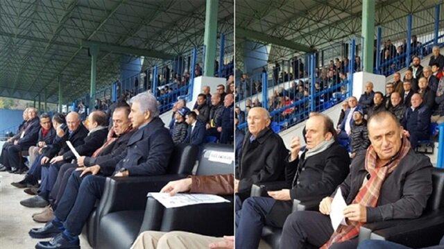 Fatih Terim 2. Lig maçını izledi