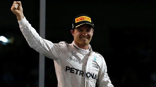 Nico Rosberg emekli oldu