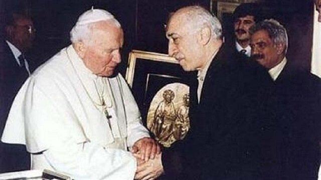 Gülen-Papa görüşmesi için Ecevit'i işaret etti